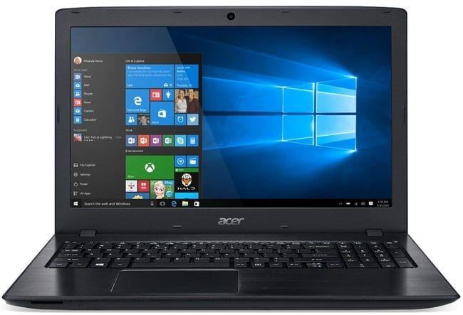 Acer Aspire E5-576-392H - best cheap laptop for streaming