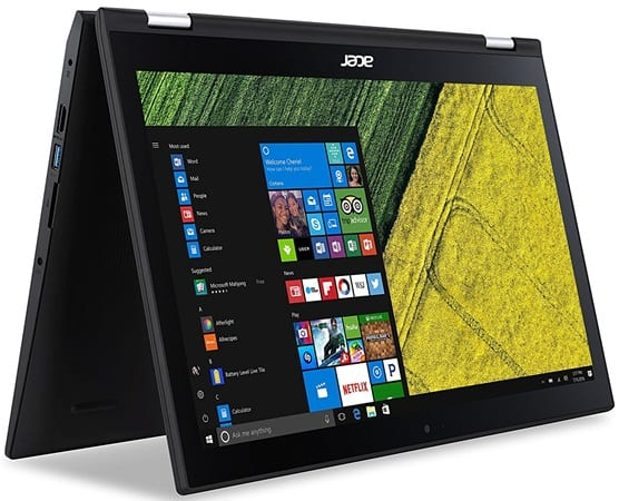 Acer Spin 3 SP315 - best laptop for streaming Netflix