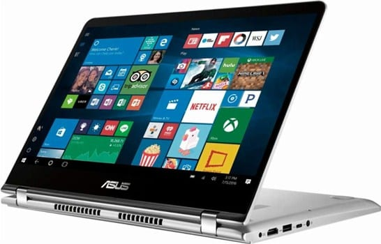 Asus Q405UA - best computer for streaming videos
