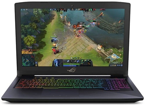 Asus ROG Strix Hero Edition GL503GE - Best Graphics Card for Overwatch