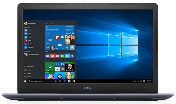 Dell G3 - best laptop for fusion 360