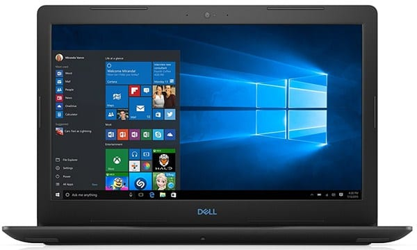 Dell G3 3579 - Best Rendering Laptop